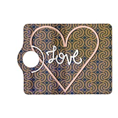 I Love You Love Background Kindle Fire Hd (2013) Flip 360 Case by Simbadda