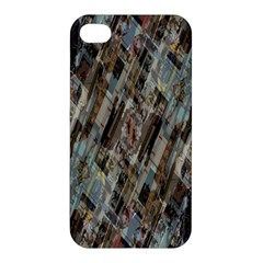 Abstract Chinese Background Created From Building Kaleidoscope Apple Iphone 4/4s Premium Hardshell Case by Simbadda