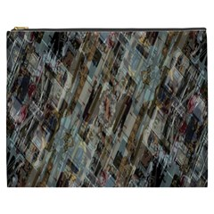 Abstract Chinese Background Created From Building Kaleidoscope Cosmetic Bag (xxxl)  by Simbadda