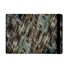 Abstract Chinese Background Created From Building Kaleidoscope Apple Ipad Mini Flip Case by Simbadda