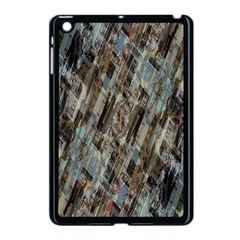 Abstract Chinese Background Created From Building Kaleidoscope Apple Ipad Mini Case (black) by Simbadda