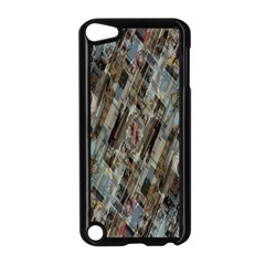 Abstract Chinese Background Created From Building Kaleidoscope Apple Ipod Touch 5 Case (black) by Simbadda