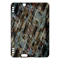 Abstract Chinese Background Created From Building Kaleidoscope Kindle Fire Hdx Hardshell Case by Simbadda