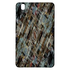 Abstract Chinese Background Created From Building Kaleidoscope Samsung Galaxy Tab Pro 8 4 Hardshell Case by Simbadda