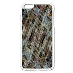 Abstract Chinese Background Created From Building Kaleidoscope Apple Iphone 6 Plus/6s Plus Enamel White Case