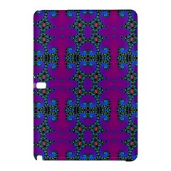 Purple Seamless Pattern Digital Computer Graphic Fractal Wallpaper Samsung Galaxy Tab Pro 10 1 Hardshell Case by Simbadda