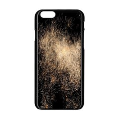 Fireworks Party July 4th Firework Apple Iphone 6/6s Black Enamel Case by Simbadda