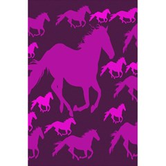Pink Horses Horse Animals Pattern Colorful Colors 5 5  X 8 5  Notebooks by Simbadda