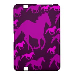 Pink Horses Horse Animals Pattern Colorful Colors Kindle Fire Hd 8 9  by Simbadda