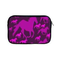 Pink Horses Horse Animals Pattern Colorful Colors Apple Macbook Pro 13  Zipper Case by Simbadda