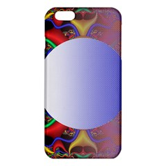 Texture Circle Fractal Frame Iphone 6 Plus/6s Plus Tpu Case by Simbadda