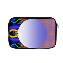 Texture Circle Fractal Frame Apple Macbook Pro 13  Zipper Case by Simbadda