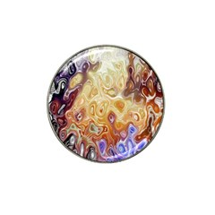 Space Abstraction Background Digital Computer Graphic Hat Clip Ball Marker by Simbadda