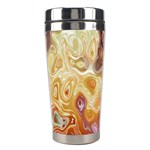 Space Abstraction Background Digital Computer Graphic Stainless Steel Travel Tumblers Center