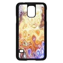 Space Abstraction Background Digital Computer Graphic Samsung Galaxy S5 Case (black) by Simbadda