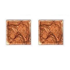 3d Glass Frame With Fractal Background Cufflinks (square) by Simbadda