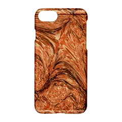 3d Glass Frame With Fractal Background Apple Iphone 7 Hardshell Case by Simbadda