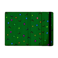 Green Abstract A Colorful Modern Illustration Apple Ipad Mini Flip Case by Simbadda