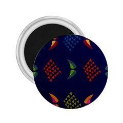 Abstract A Colorful Modern Illustration 2 25  Magnets by Simbadda