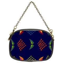 Abstract A Colorful Modern Illustration Chain Purses (one Side)  by Simbadda