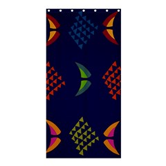 Abstract A Colorful Modern Illustration Shower Curtain 36  X 72  (stall)  by Simbadda