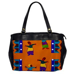 A Colorful Modern Illustration For Lovers Office Handbags by Simbadda