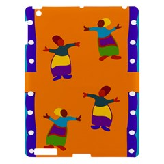 A Colorful Modern Illustration For Lovers Apple Ipad 3/4 Hardshell Case by Simbadda