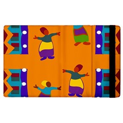 A Colorful Modern Illustration For Lovers Apple Ipad 3/4 Flip Case by Simbadda