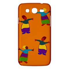A Colorful Modern Illustration For Lovers Samsung Galaxy Mega 5 8 I9152 Hardshell Case  by Simbadda