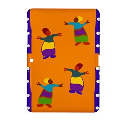 A Colorful Modern Illustration For Lovers Samsung Galaxy Tab 2 (10 1 ) P5100 Hardshell Case  by Simbadda