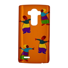 A Colorful Modern Illustration For Lovers Lg G4 Hardshell Case by Simbadda
