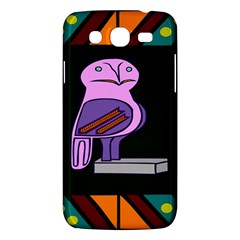 Owl A Colorful Modern Illustration For Lovers Samsung Galaxy Mega 5 8 I9152 Hardshell Case  by Simbadda
