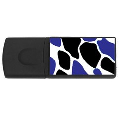 Digital Pattern Colorful Background Art Usb Flash Drive Rectangular (4 Gb) by Simbadda