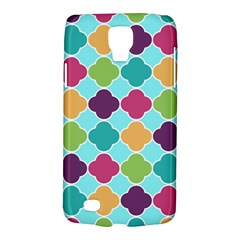Colorful Quatrefoil Pattern Wallpaper Background Design Galaxy S4 Active by Simbadda