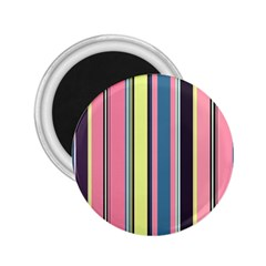 Seamless Colorful Stripes Pattern Background Wallpaper 2 25  Magnets