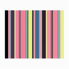 Seamless Colorful Stripes Pattern Background Wallpaper Small Glasses Cloth (2 Side) by Simbadda