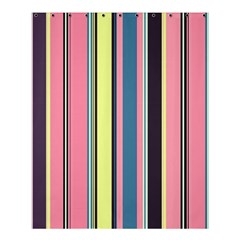 Seamless Colorful Stripes Pattern Background Wallpaper Shower Curtain 60  X 72  (medium)  by Simbadda