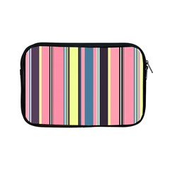 Seamless Colorful Stripes Pattern Background Wallpaper Apple Ipad Mini Zipper Cases by Simbadda