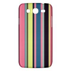 Seamless Colorful Stripes Pattern Background Wallpaper Samsung Galaxy Mega 5 8 I9152 Hardshell Case  by Simbadda
