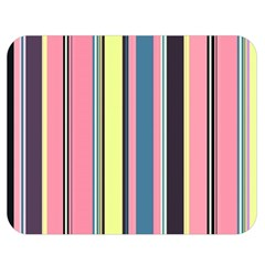Seamless Colorful Stripes Pattern Background Wallpaper Double Sided Flano Blanket (medium)  by Simbadda