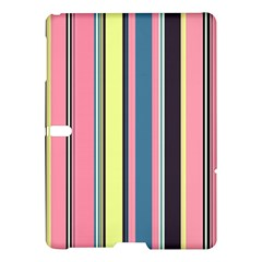 Seamless Colorful Stripes Pattern Background Wallpaper Samsung Galaxy Tab S (10 5 ) Hardshell Case  by Simbadda