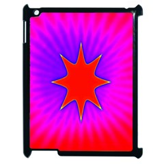 Pink Digital Computer Graphic Apple Ipad 2 Case (black) by Simbadda