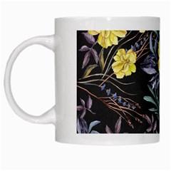 Wildflowers Ii White Mugs