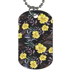 Wildflowers Ii Dog Tag (two Sides)