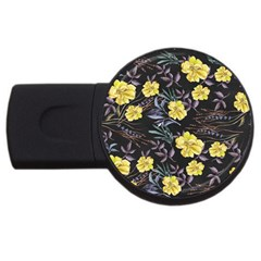 Wildflowers Ii Usb Flash Drive Round (2 Gb) by tarastyle