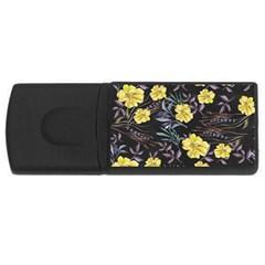 Wildflowers Ii Usb Flash Drive Rectangular (4 Gb) by tarastyle