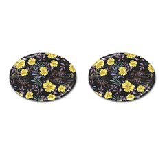 Wildflowers Ii Cufflinks (oval)