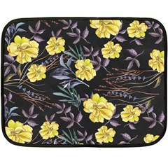Wildflowers Ii Fleece Blanket (mini) by tarastyle