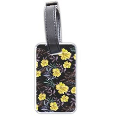 Wildflowers Ii Luggage Tags (one Side)  by tarastyle
