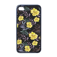 Wildflowers Ii Apple Iphone 4 Case (black)